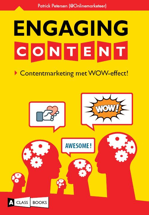 Cover van het content marketing boek Engaging Content van auteur Petrick Petersen